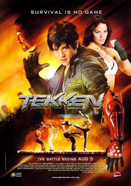 tekken poster   Tekken is in the Cinemas!!