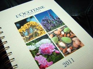 Loccitane Diary 1 | L'occitane en Provence 2011 Diary for Charity