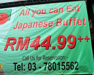 Food Review: Sen Tsuru @ Palm Spring, Damansara 3