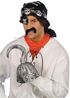 deluxe pirate hook 471 p | I'm a Pirate, Take Me To Stranger Tides!