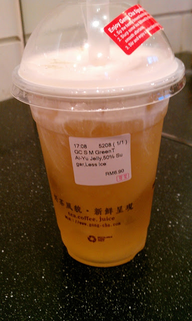 Food Review: Gong Cha 貢茶 Bubble Tea @ The Gardens, Mid Valley City 6