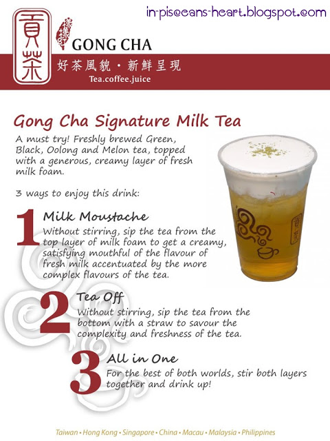 GongCha5 | Food Review: Gong Cha 貢茶 Bubble Tea @ The Gardens, Mid Valley City