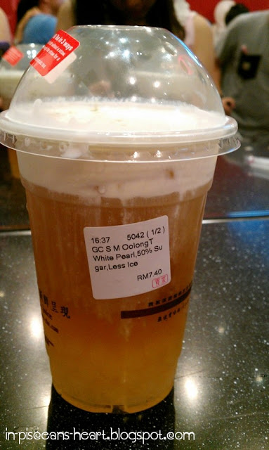 Food Review: Gong Cha 貢茶 Bubble Tea @ The Gardens, Mid Valley City 4