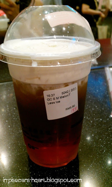 Food Review: Gong Cha 貢茶 Bubble Tea @ The Gardens, Mid Valley City 5