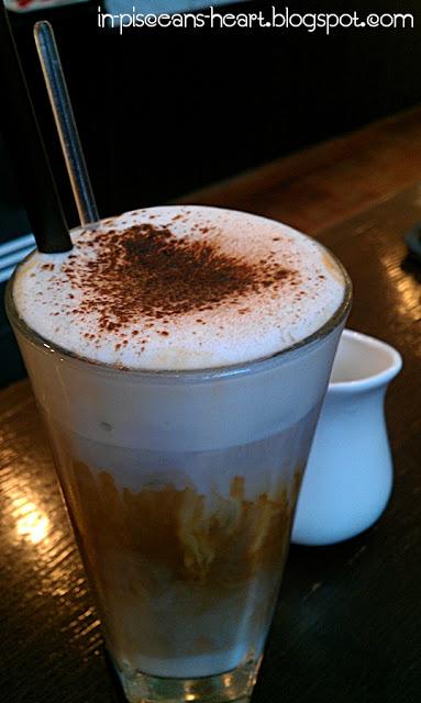 Iced Cappucino - Food Review: Theobroma Chocolate Lounge @ 1 Utama