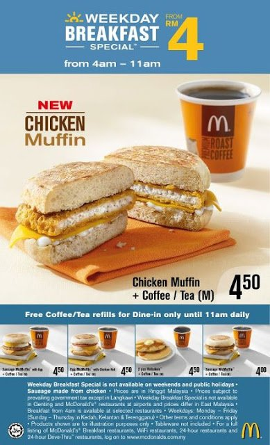 Chicken Muffin | McDonald's Chicken Nugget Burger (Breakfast)