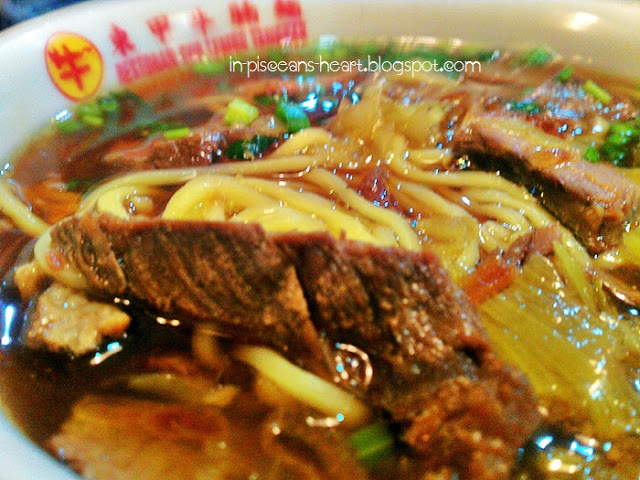 Food Review: Tangkak Beef Noodles (东甲牛腩面) @ Maluri, Cheras 7