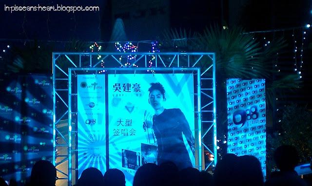 Vanness Wu 吳建豪 C'est la V Promo Tour 2011 @ Overtime Rivercity, Jalan Ipoh 2
