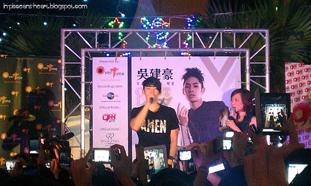 Vanness Wu 吳建豪 C'est la V Promo Tour 2011 @ Overtime Rivercity, Jalan Ipoh 3