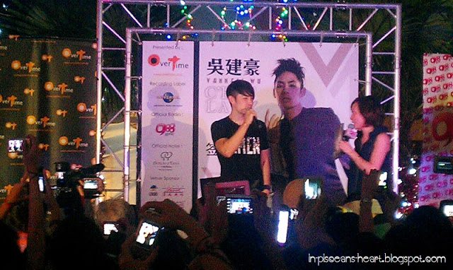 IMAG1386 | Vanness Wu 吳建豪 C'est la V Promo Tour 2011 @ Overtime Rivercity, Jalan Ipoh