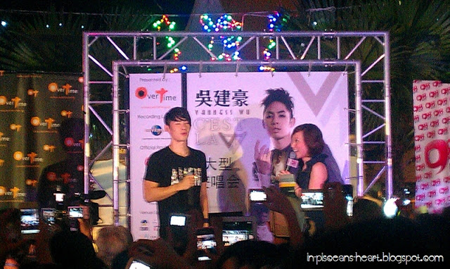 Vanness Wu 吳建豪 C'est la V Promo Tour 2011 @ Overtime Rivercity, Jalan Ipoh 6