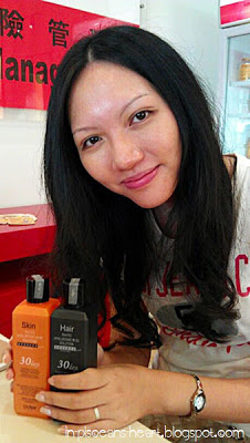 Yours truly and Biolyn Phyto Hyaluronic Acid products