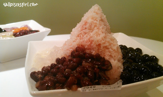 Cranberry Crushed Ice with Milk - Food Review: BlackBall @ Sri Petaling