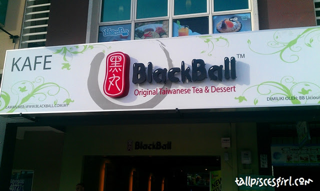 Phew~ We're finally at BlackBall!