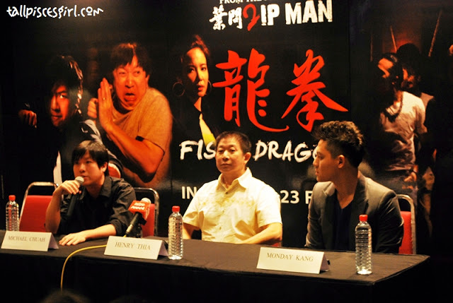 Press Conference/Movie Review: Fist of Dragon (龙拳) 2012 1