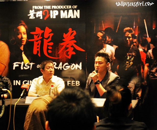 Press Conference/Movie Review: Fist of Dragon (龙拳) 2012 2