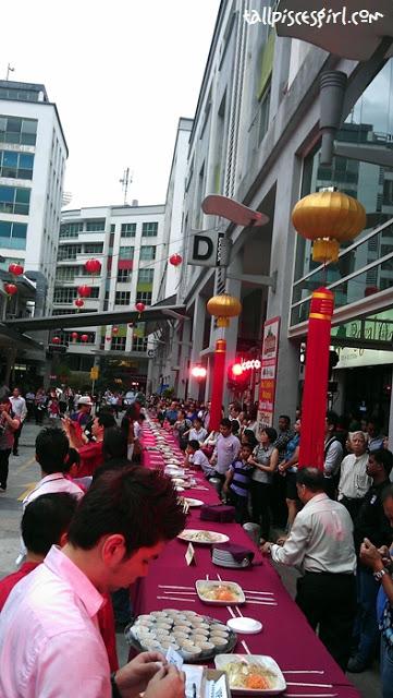 250 feet Lou Sang Ceremony @ Jaya One 8