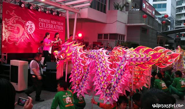 250 feet Lou Sang Ceremony @ Jaya One 5