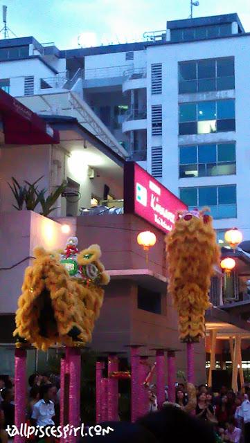 250 feet Lou Sang Ceremony @ Jaya One 10