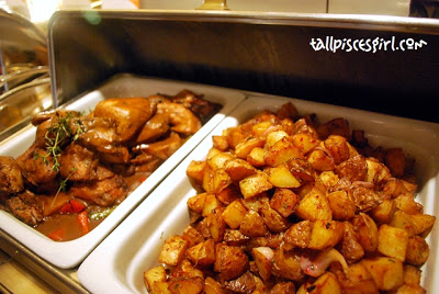 Harissa Marinated Baby Chicken Roasted Nutmeg Potato | Sunday Brunch @ Grand Dorsett Subang Hotel