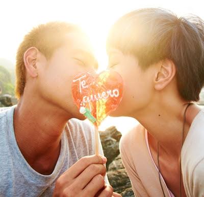 LOVE Eddie Peng Amber Kuo 02   Movie: 愛 Love (2012)