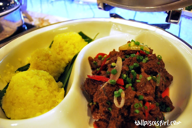 Beef Rendang with Sticky Rice