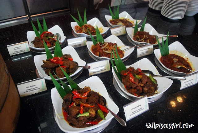 Assorted Rendang and Sambal