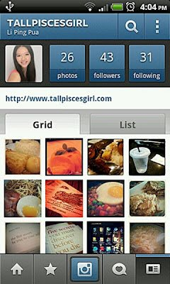 Instagram 1 | Tallpiscesgirl has Instagram now!