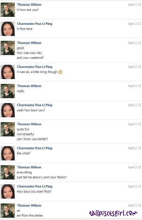Thomas Wilson Facebook Chat 11 | GIRLS, BEWARE WHILE CHATTING ON FACEBOOK!
