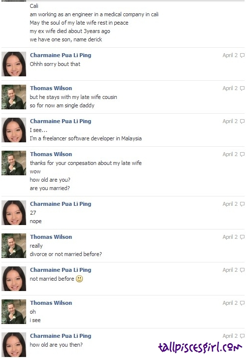 Thomas Wilson Facebook Chat 2 | GIRLS, BEWARE WHILE CHATTING ON FACEBOOK!