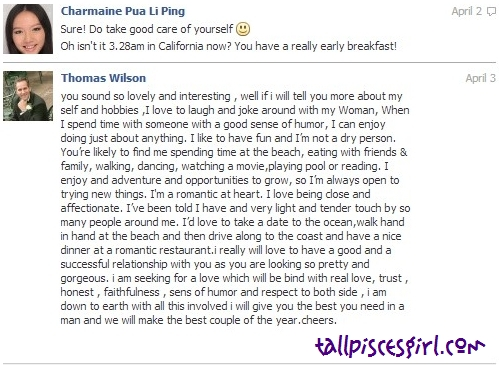 Thomas Wilson Facebook Chat 4 | GIRLS, BEWARE WHILE CHATTING ON FACEBOOK!
