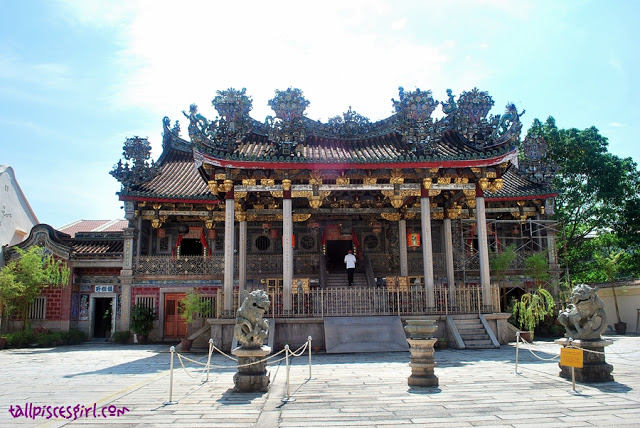 Leong San Tong at Khoo Kongsi, an administrative building with a meeting hall and offices