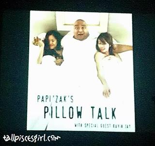 Experiencing LAUGH FEST 2012: Papi Zak's PILLOW TALK 1