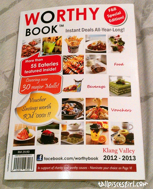 Worthy Book 1 | Worthy Book F&B Special Edition