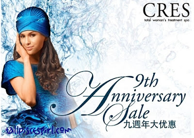 Cres 9th Anniversary Sale