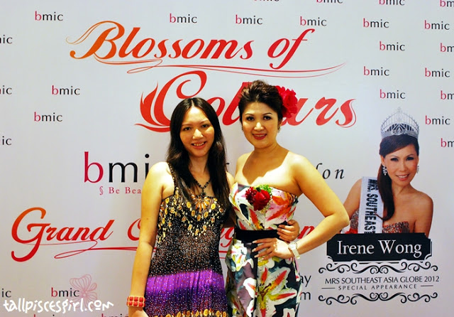 Yours truly with Ms. Michelle Hee