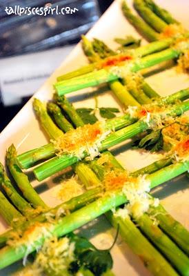 Green Asparagus with Parmesan Cheese | Antipasto Italian Lunch Buffet @ Senja, The Saujana Hotel Kuala Lumpur