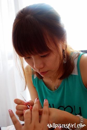 Japanese Gel Nail and Manicure @ Shige Hair Salon 4