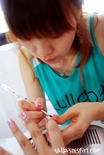 Japanese Gel Nail and Manicure @ Shige Hair Salon 6