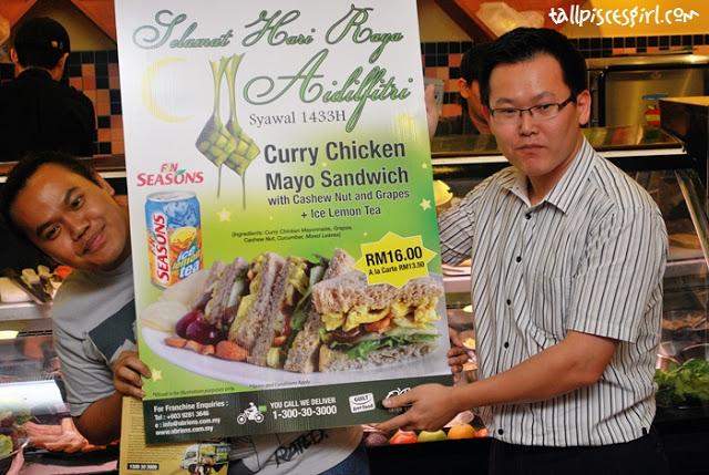foodpanda Ramadan Bloggers' Gathering @ O'Briens Irish Sandwich Cafe 17