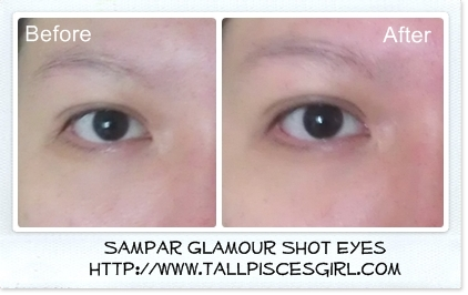 Sampar Before and After - Product Review: Sampar Glamour Shot Yeux