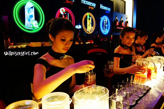 Hennessy Mixing Bar