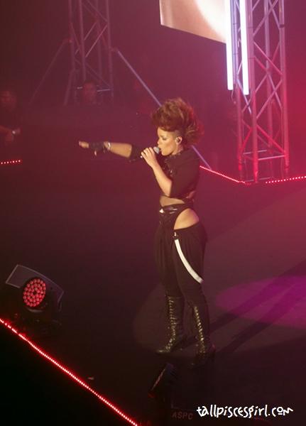 Eva Simons rocked the stage!