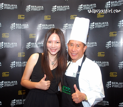 A shot of Chef Martin Yan and I =) Please come back soon!