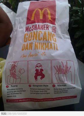 Gangnam Fries1 - Gangnam Fries and Samurai Burger @ McDonald's