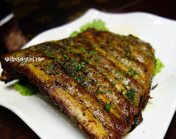 BBQ Broiled Spanish Pork Ribs (RM 158.00)