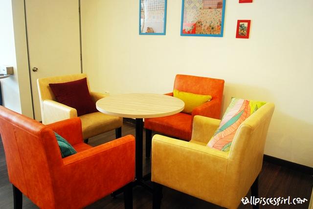 Comfy sofa seats