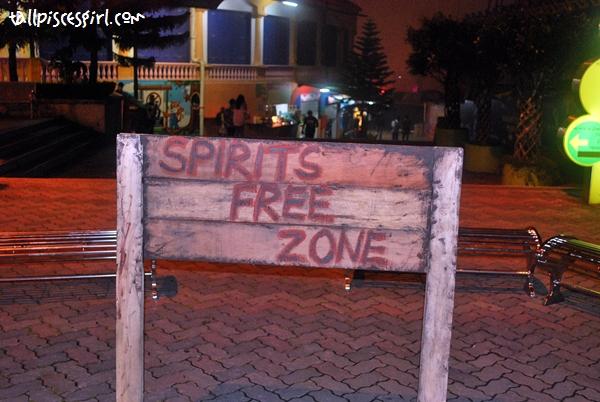 Spirit Free Zone