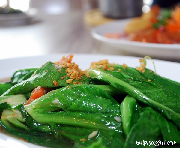 Thai Style Stir Fried Baby Kailan with Salted Fish (RM 12.50)