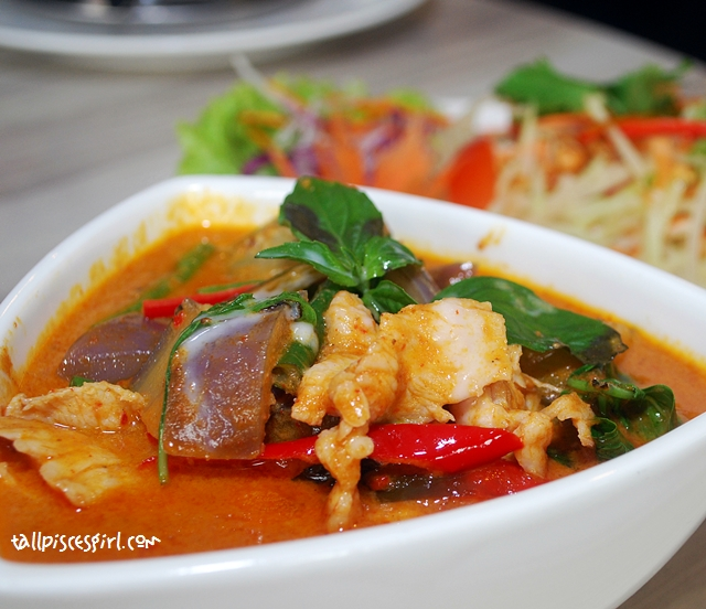 Thai Red Curry (RM 13.50)